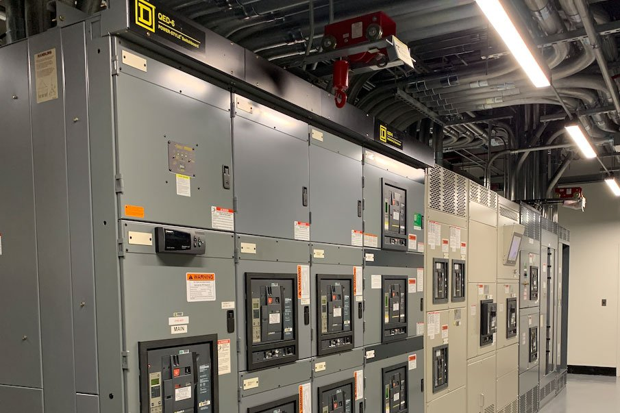 Square D data center 26kV substation