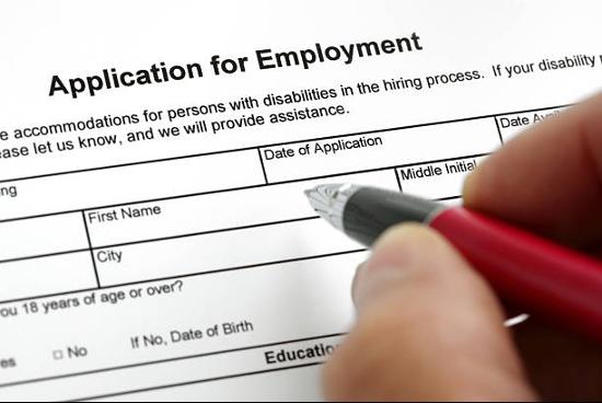 Career application employment application